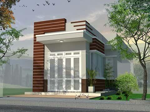 tu van thiet ke nha 1 tang 4x18m - Nhà 1 tầng ở vùng nông thôn miền núi đẹp với 3 phòng ngủ