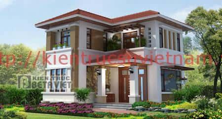 tu van thiet ke nha 2 tang nong thon 2 - 57 Mẫu thiết kế nhà mái thái đẹp nếu làm nhà các bạn nên tham khảo, mát phù hợp khí hậu nhiệt đới