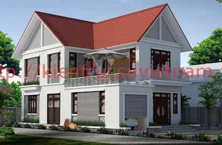 tu van thiet ke nha 2 tang nong thon - 57 Mẫu thiết kế nhà mái thái đẹp nếu làm nhà các bạn nên tham khảo, mát phù hợp khí hậu nhiệt đới