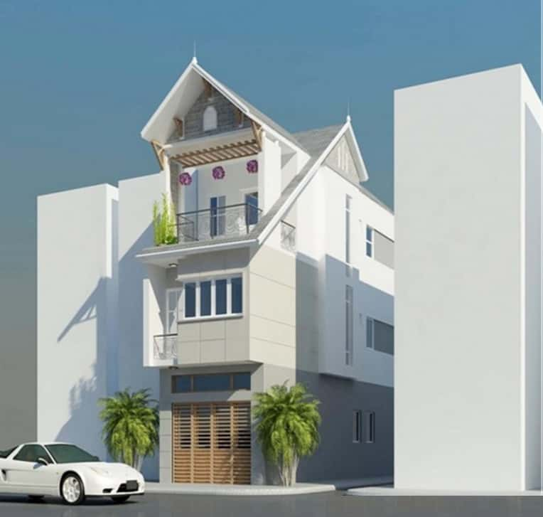 tu van thiet ke nha 3 tang 4x12m - Thiết kế nhà 3 tầng anh Đoàn Ngọc Quang - Đà Nẵng