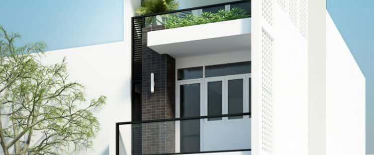 Thiết kế nhà đẹp diện tích nhỏ 45m2 đẹp