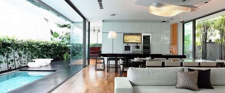 Tư vấn thiết kế nội thất không gian mở