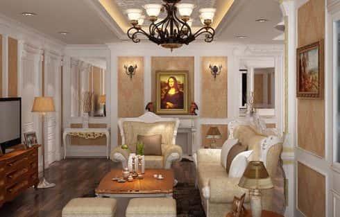 Tư vấn thiết kế nội thất kiểu pháp