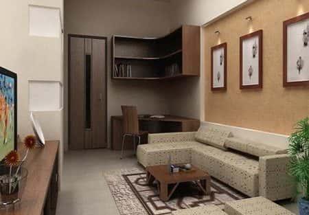 Tư vấn thiết kế nội thất nhà ống 2 tầng