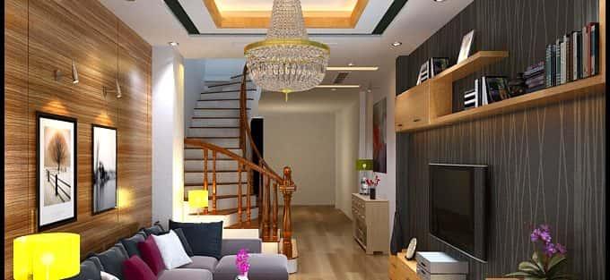 Tư vấn thiết kế nội thất nhà ống 3 tầng