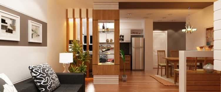 Tư vấn thiết kế nội thất phòng khách 20m2