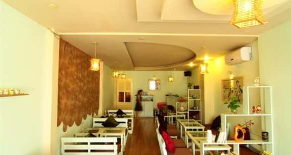 Tư vấn thiết kế nội thất quán cafe nhỏ
