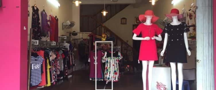 Tư vấn thiết kế nội thất shop quần áo