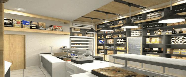 Tư vấn thiết kế nội thất siêu thị mini
