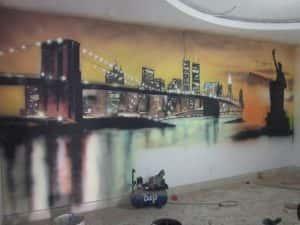 ve tranh tuong dep 18 300x225 - Vẽ tranh tường tại Hà Nội