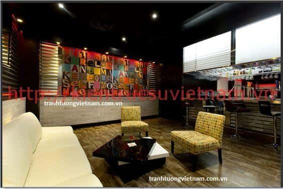 ve tranh tuong khach san001 - Vẽ tranh tường cho nhà hàng, khách sạn