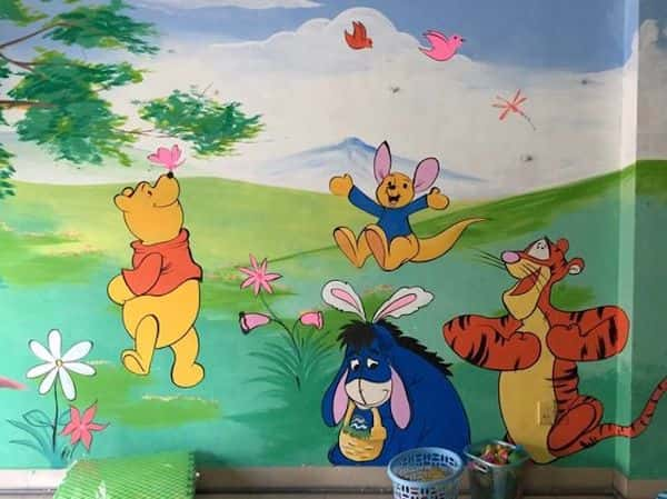 ve tranh tuong mam non 10 - Dịch vụ Vẽ tranh tường Mầm Non