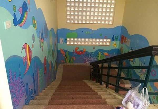 ve tranh tuong mam non 7 - Dịch vụ Vẽ tranh tường Mầm Non