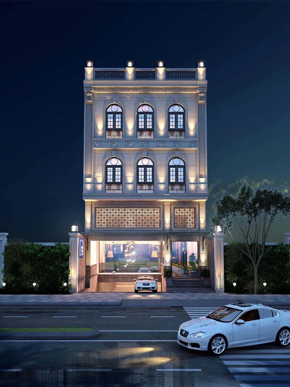 1df97cf5f8281f764639 - Thiết kế khách sạn cổ điển sang trọng