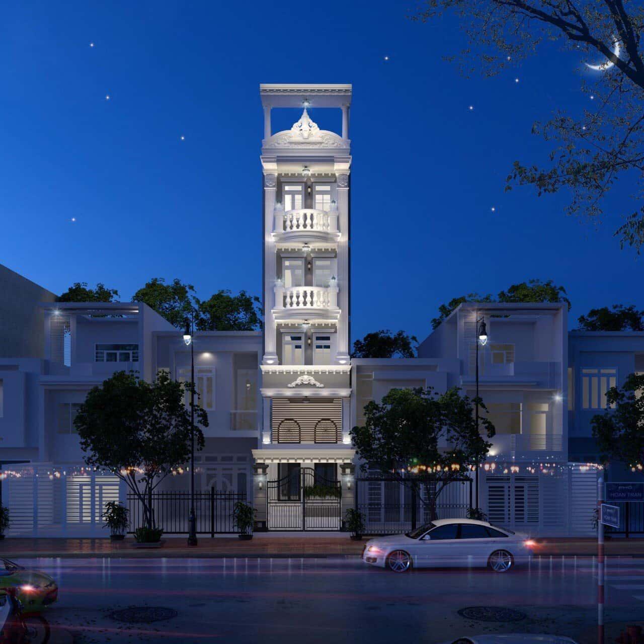 336cb9c2381fdf41860e - Thiết kế khách sạn cổ điển sang trọng