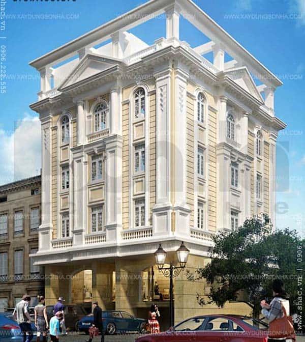 khach san co dien 10 - Thiết kế khách sạn cổ điển sang trọng