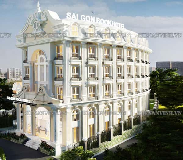 khach san co dien 11 - Thiết kế khách sạn cổ điển sang trọng