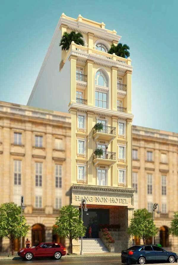 khach san co dien 18 - Thiết kế khách sạn cổ điển sang trọng
