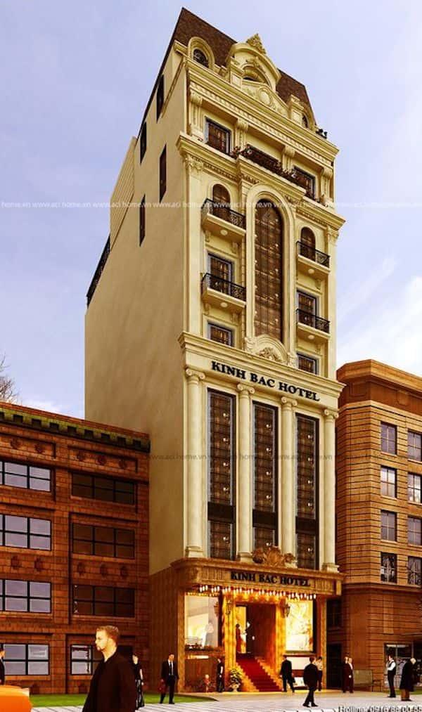 khach san co dien 2 - Thiết kế khách sạn cổ điển sang trọng