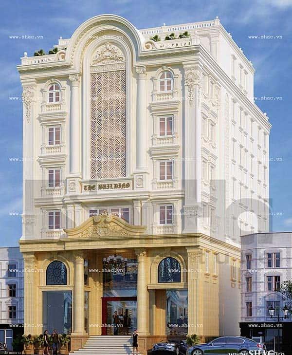 khach san co dien 24 - Thiết kế khách sạn cổ điển sang trọng