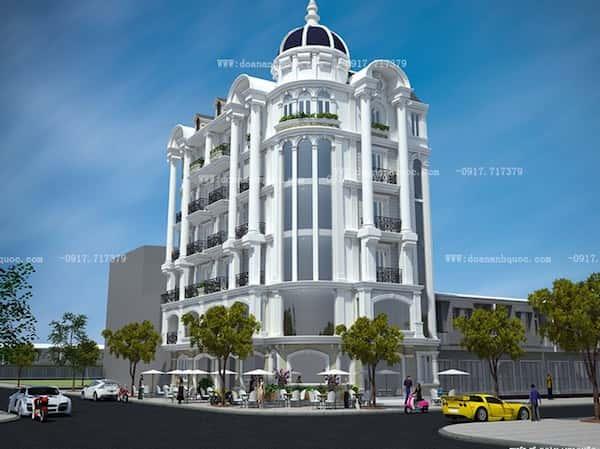 khach san co dien 28 - Thiết kế khách sạn cổ điển sang trọng