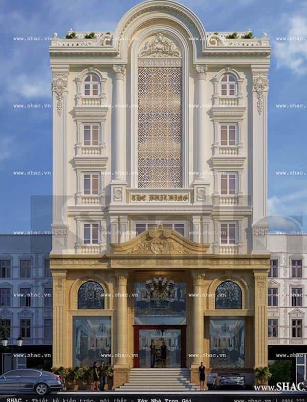 khach san co dien 6 - Thiết kế khách sạn cổ điển sang trọng