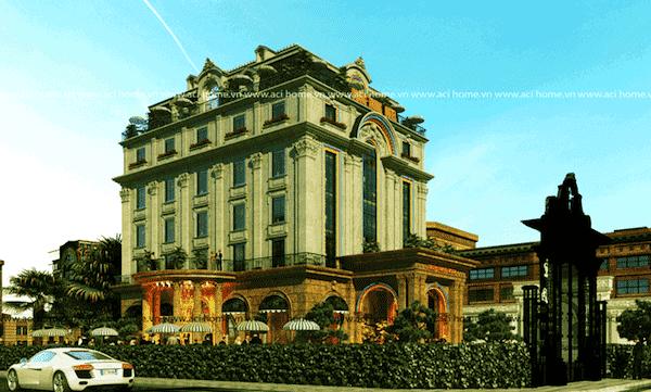 khach san co dien 7 - Thiết kế khách sạn cổ điển sang trọng
