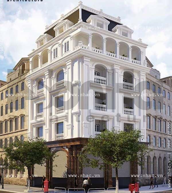 khach san co dien 8 - Thiết kế khách sạn cổ điển sang trọng