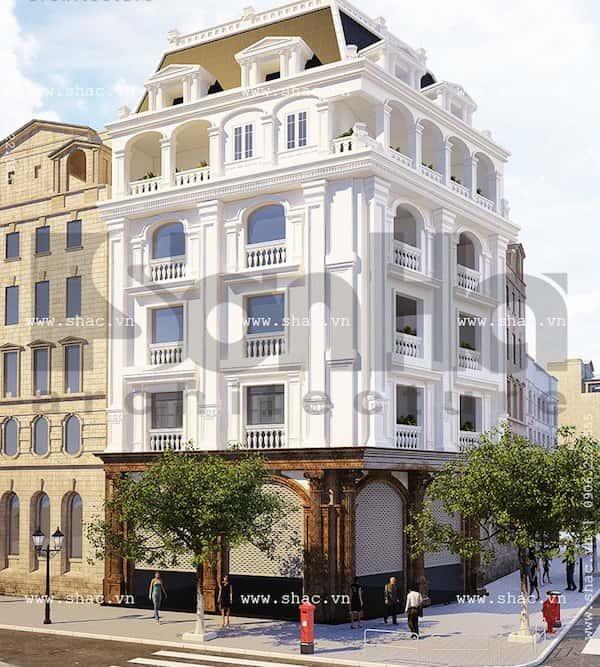 khach san co dien 9 - Thiết kế khách sạn cổ điển sang trọng