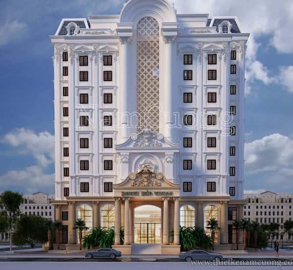 khach san co dien dep - Thiết kế khách sạn cổ điển sang trọng