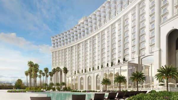 mau khach san co dien 8 - Thiết kế khách sạn cổ điển sang trọng