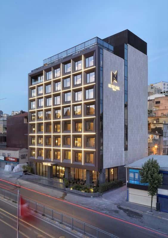 mau khach san dep 12 - Thiết kế khách sạn hiện đại đẹp sang trọng đẳng cấp