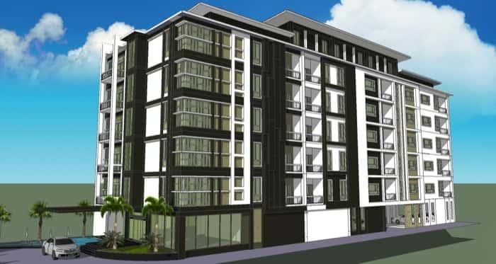mau khach san dep 4 - Thiết kế khách sạn hiện đại đẹp sang trọng đẳng cấp