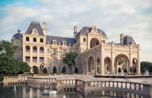 thiet ke khach san co dien - Thiết kế khách sạn cổ điển sang trọng