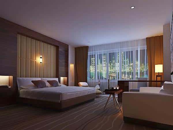 thiet ke phong khach san 2 - Thiết kế nội thất khách sạn đẹp và sang trọng nhất