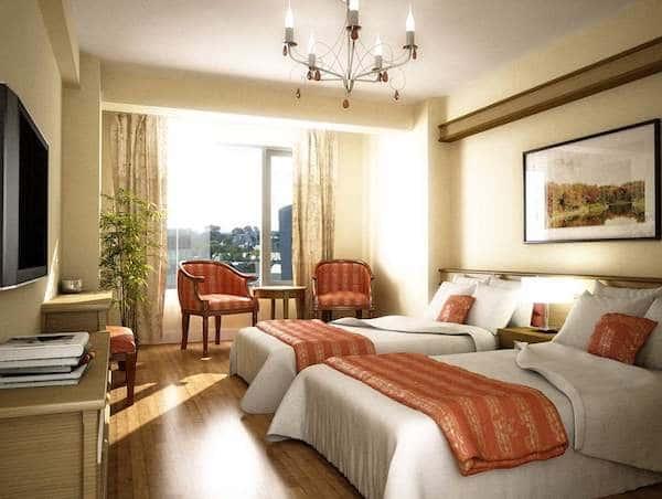 thiet ke phong ngu khach san 12 - Thiết kế khách sạn Vinh