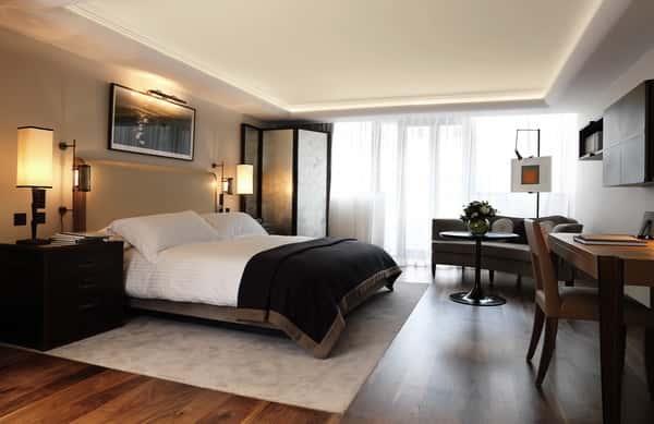 thiet ke phong ngu khach san 2 - Thiết kế nội thất chung cư 2 phòng ngủ