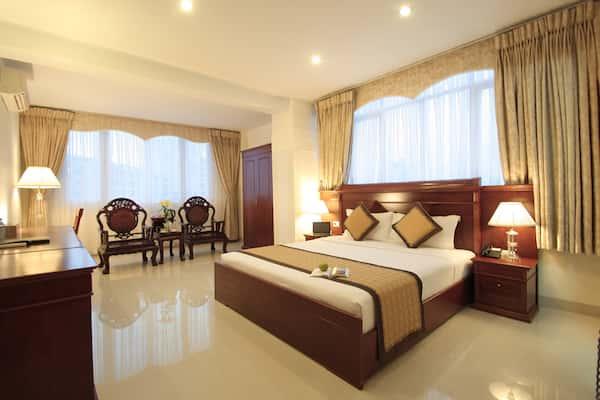 thiet ke phong ngu khach san 3 - Thiết kế nội thất chung cư 2 phòng ngủ