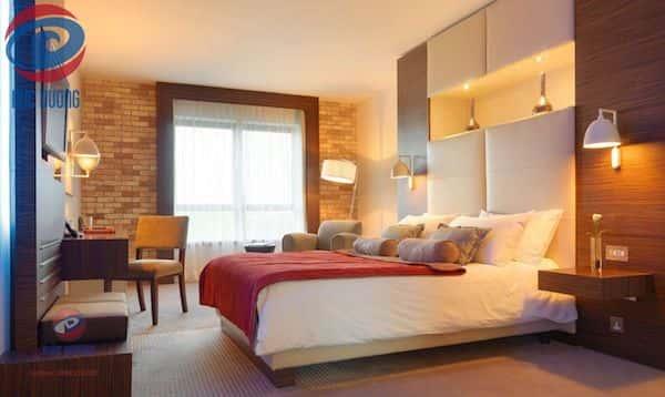 thiet ke phong ngu khach san 4 - Thiết kế nội thất chung cư 2 phòng ngủ