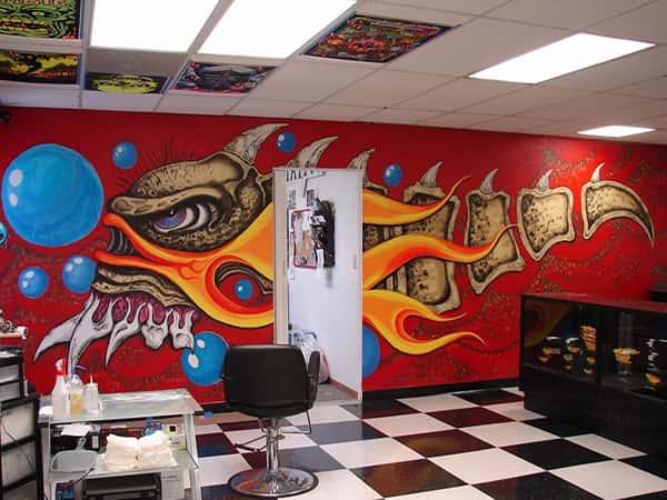 Vẽ Tranh tường quán karoke sinh động hấp dẫn