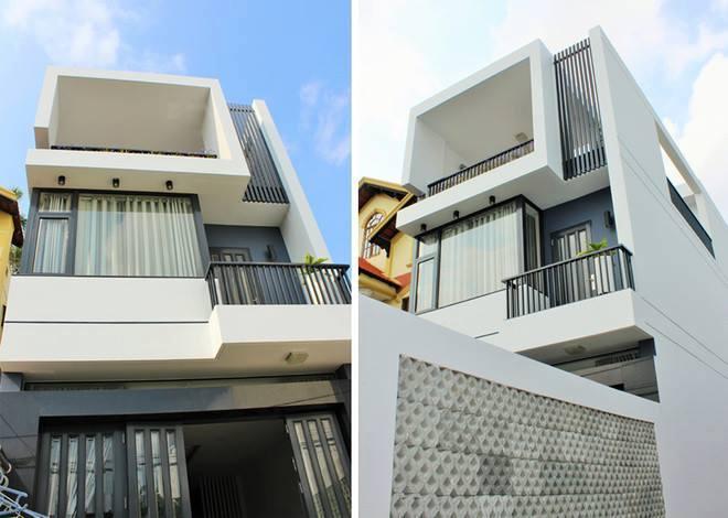 mặt tiền 5m - Thiết kế nhà 3.5 tầng cô Loan chú Sơn Đà Nẵng