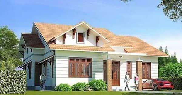 12 Mẫu thiết kế nhà 1 tầng đẹp với nhiều phong cách
