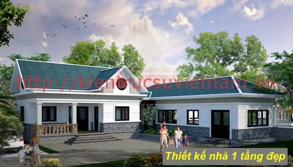 nha 1 tang ms10 - 57 Mẫu thiết kế nhà mái thái đẹp nếu làm nhà các bạn nên tham khảo, mát phù hợp khí hậu nhiệt đới