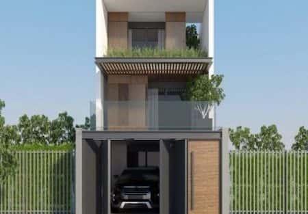12 Mẫu thiết kế nhà 2 tầng đẹp phong cách hiện đại