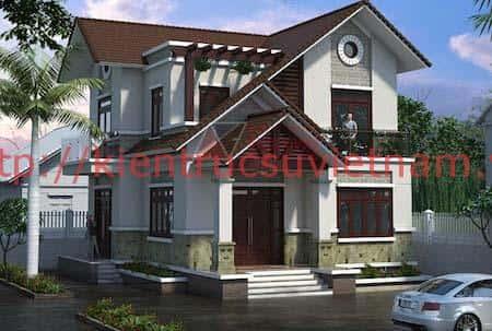 nha 2 tang dep - 57 Mẫu thiết kế nhà mái thái đẹp nếu làm nhà các bạn nên tham khảo, mát phù hợp khí hậu nhiệt đới