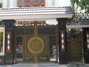 cong biet thu ms0044 300x225 - Bộ sưu tập các mẫu cổng biệt thự đẹp
