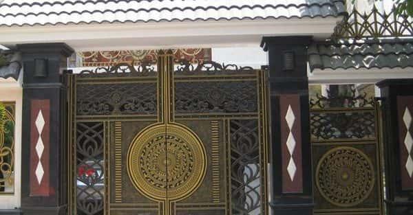 Bộ sưu tập các mẫu cổng biệt thự đẹp