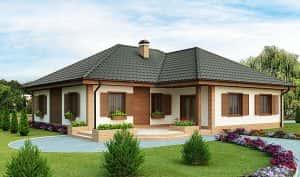mau nha cap 4 mai thai 300x177 - Mẫu thiết kế nhà cấp 4 nông thôn rẻ đẹp