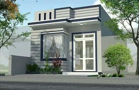 Mẫu thiết kế nhà cấp 4 với diện tích 80m2 gồm 3 phòng ngủ