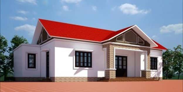 Mẫu thiết kế nhà cấp 4 gác lửng đẹp 40m2, 50m2 hiện đại giá từ 150 triệu tới 300 triệu